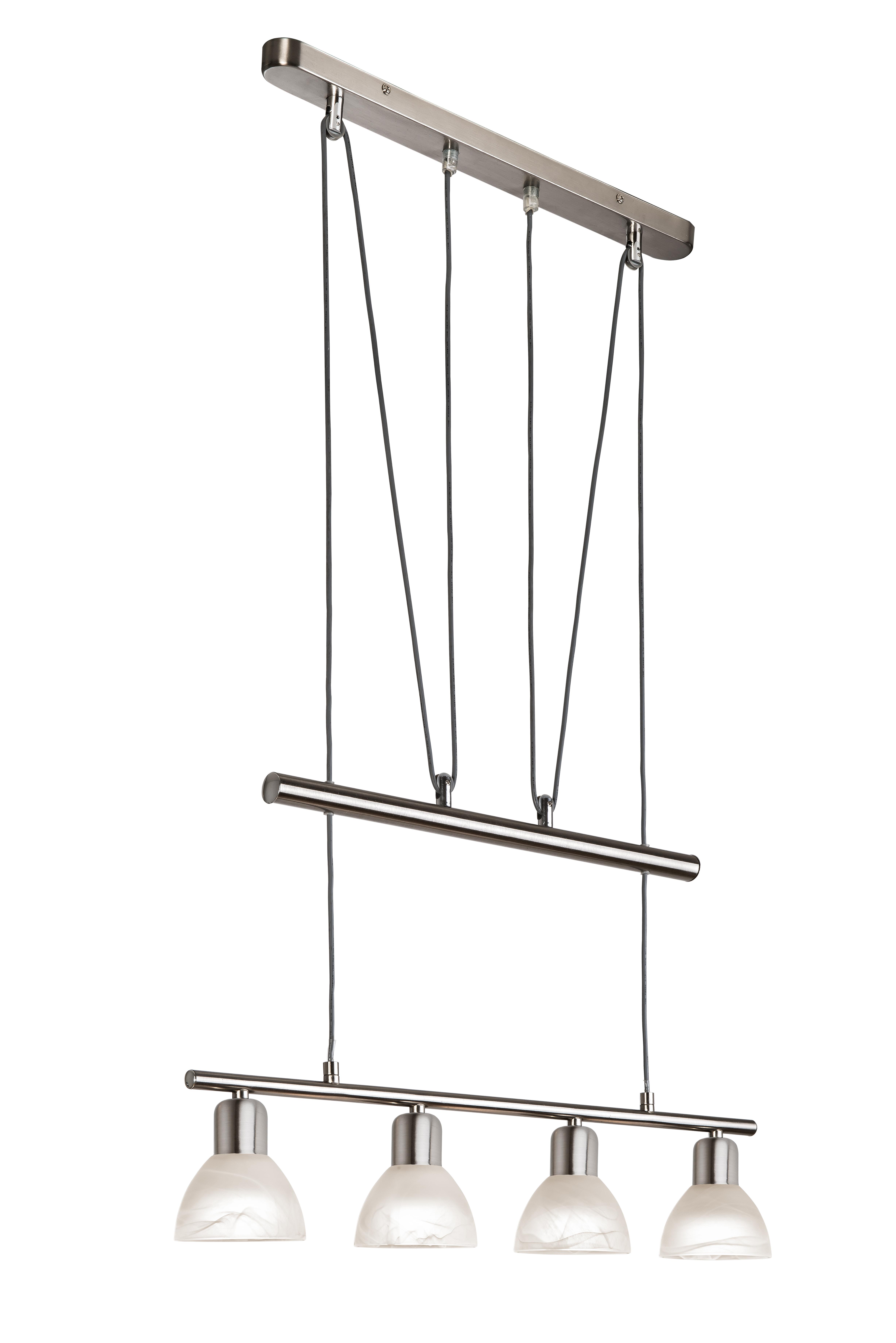 nino leuchten 4 flg led jojo pendelleuchte daytona by wohnorama ebay. Black Bedroom Furniture Sets. Home Design Ideas