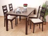 Esszimmer Tisch Holzfuß massiv