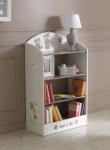 Bücherregal Ted & Lily Chocolat/Beige von Demeyere