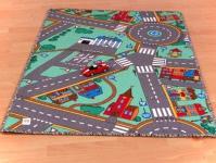 Kinderspielteppich Strasse 133x150 cm
