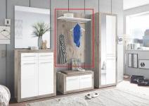 Kleiderpaneel Garderobe Kolibri von First Look Sandeiche / Weiß Hgl