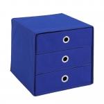 MEGA 31 Aufbewahrungsbox mit 3 Schubkästen blau