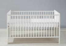 Kinderbett Miri von Trendteam Pinie Weiß Struktur