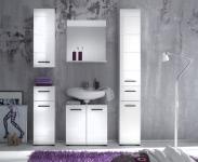Komplett Badezimmer Weiss HG