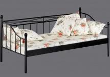 90x200 Tagesbett LINDA von Reality Import Weiss a