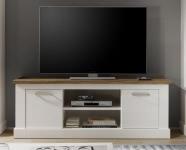 TV-Unterschrank Toronto von Trendteam Pinie Weiß Struktur