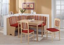 Truheneckbank mit Tisch Kreta