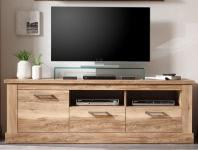TV-Element Satin Nußbaum