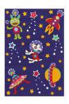 110x160 Teppich Spirit Glowy 3144 Space von Arte Espina Violett