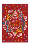 110x160 Teppich Spirit Glowy 3145 Mandala von Arte Espina Rot