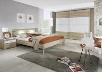 Schlafzimmer 3-tlg Plus2 KS ca. 359 cm u 180x190 Bett von Rauch ...