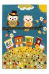 120x170 Teppich Australia - Cairns Kids Blau von Lalee
