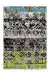 160x230 Teppich Move 4454 von Arte Espina Grau / Grün / Blau