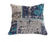 45x45 Kissen Matrix Pillow 110 Türkis von Kayoom