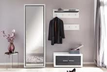 Garderobe 3-teilig Light VA 32LG0JVA von Wohnorama Norwegische Kiefer schwarz