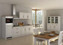 Küchenblock inkl E-Geräte 290 cm breit ROM 290 von Held Möbel Weiss / Matt Weiss