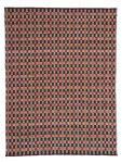 80x150 Teppich Chess 110 Natur / Rot von Kayoom