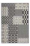 80x150 Teppich Lina 300 Multi / Schwarz  von Kayoom