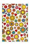 80x150 Teppich Move 4484 Flowers von Arte Espina Multi
