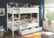 Bettschubkasten zu 90x200 Etagenbett GAIUS von Begabino Weiß