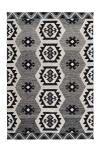 80x150 Teppich Ethnie 300 Grau von Arte Espina