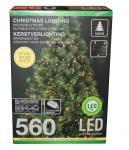 Cluster-Lichterkette 560 LED 11 m lang von Koopman Grün