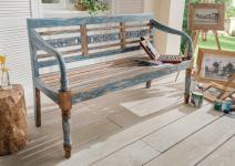 G&G Sitzbank 150 cm breit Mehrfarbig