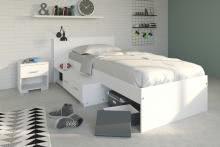 Parisot Etagenbett Bibop : Schlafzimmer set 2 tlg. inkl 90x200 etagenbett u kleiderschrank 3