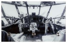 Glasgarderobe PEPE ca. 25x40 cm Motiv: Cockpit von Spiegelprofi