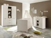 Bettkasten für Kinderbett Landi von Trendteam Pinie Weiß Struktur