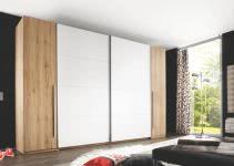 Kleiderschrank 4-trg ca. 315 cm breit Match 2 von Pol-Power Eiche San Remo / Weiss