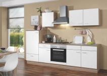 Küchenblock 270cm SONEA von Menke Möbel Weiss Eiche Sonoma