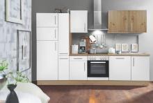 Küchenblock 310 ALINA von Menke Möbel Artisan Eiche / Weiss HG