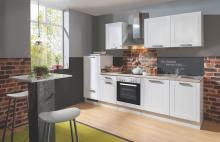 Küchenblock MATRIX von Menke Möbel Weiss matt