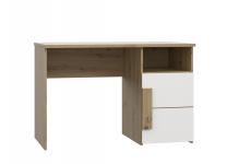 Schreibtisch ARKINA von Forte Artisan Eiche / Weiß