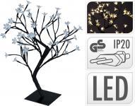 LED-Dekobaum BLÜTENBAUM 48 LED 45 cm hoch warmweiss von Koopman Schwarz