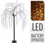 LED-Dekobaum inkl Flash 400 LED warmweiss von Koopman