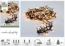 LED-Lichterkette 560 LED warmweiss von Koopman Weiss