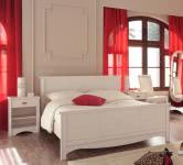 Schlafzimmer-Set 3-tlg inkl 160x200 Bett Marion 8 von Parisot Kiefer Weiss
