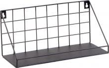 Metallregal ELBE 30x14 cm schwarz von Spiegelprofi