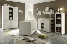 Regal Landi von Trendteam Pinie Weiß Struktur