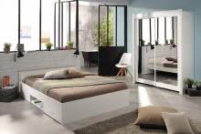 Schlafzimmer 2-tlg inkl Schweber ca. 182 breit Celebrity 52 von Parisot Weiß