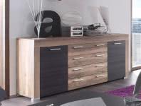 Sideboard BOOM von Trendteam Nussbaum/Touchwood