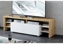 TV-Lowboard TORINO von Innostyle Eiche Altholz Weiss