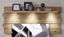 Wandpaneel inkl. LED-Beleuchtung Loft-Two von Innostyle Artisan Eiche