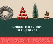 Weihnachtsdekobox 20tlg TRADITIONAL von Wohnorama