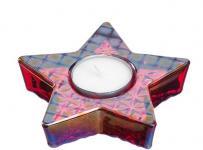 Windlicht VIVO Stern 17 cm 1 Stück von Leonardo Rot