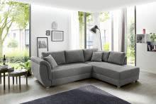 Wohnlandschaft TAORMINA R/L inkl Bettkasten und Gästebett von JOB Grau