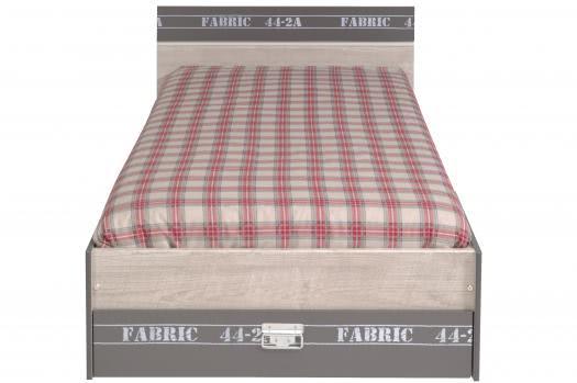 Jugendbett mit Dekoprint Fabric6