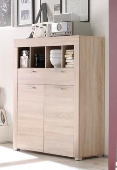 kommode boom von trendteam eiche s gerau hell. Black Bedroom Furniture Sets. Home Design Ideas
